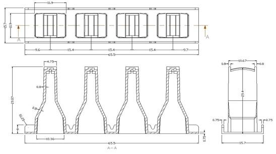 Кюветы к START-4, TS 1000/4000