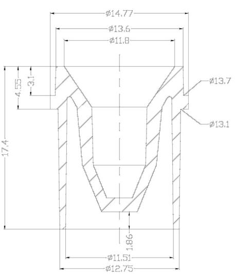 >А37 - Кюветы (чашечки) для проб к анализаторам ACL 0,5мл