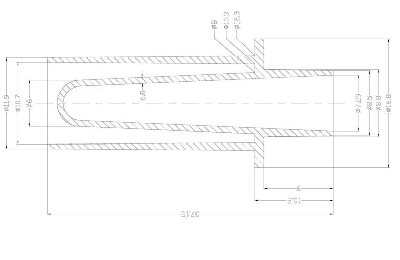 А38 - Кюветы (пробирки для образцов) к анализаторам Hitachi/Pentra/Furuno