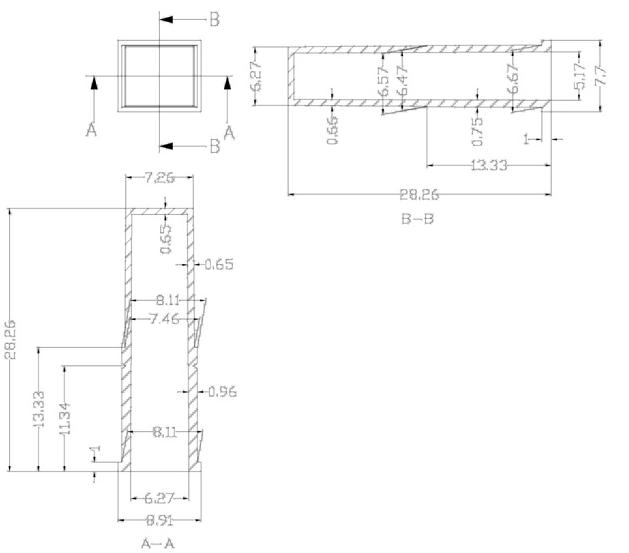 А42 - Кюветные сегменты 8-ми кюветные к анализаторам HITACHI /DIRUI