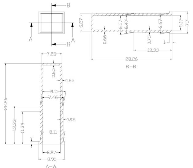 А43 - Кюветные сегменты 20-ти кюветные к анализаторам HITACHI